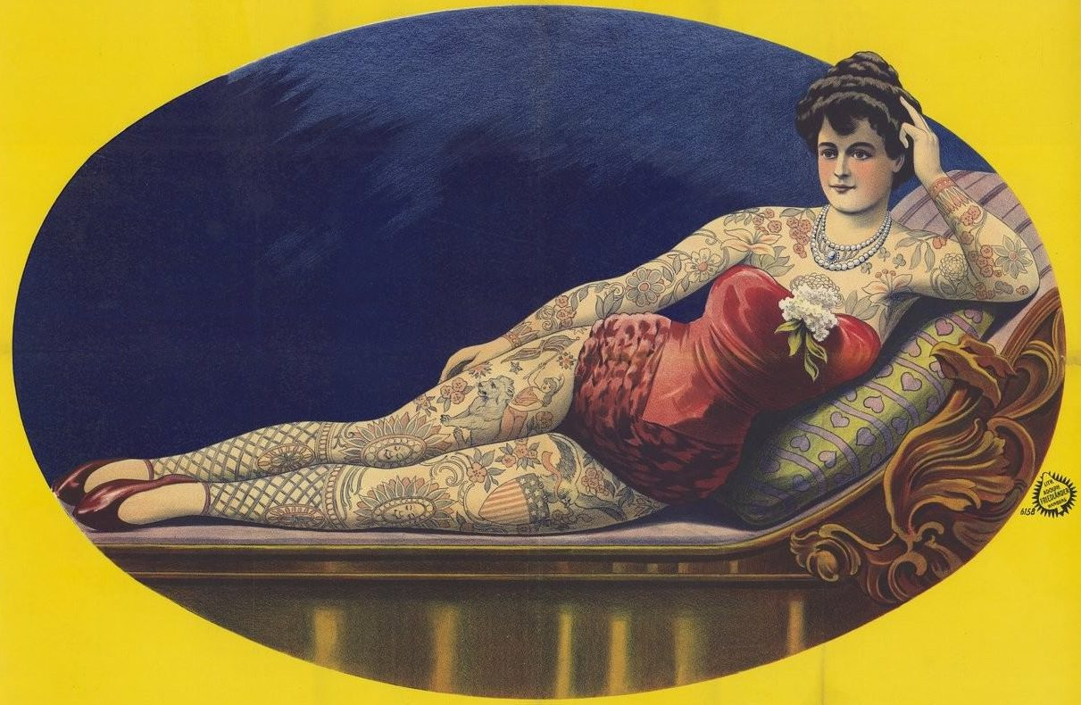 Femmes et tatouage : approches historiques